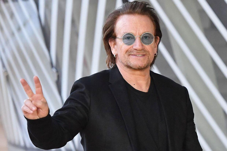 U2-forsanger Bono.