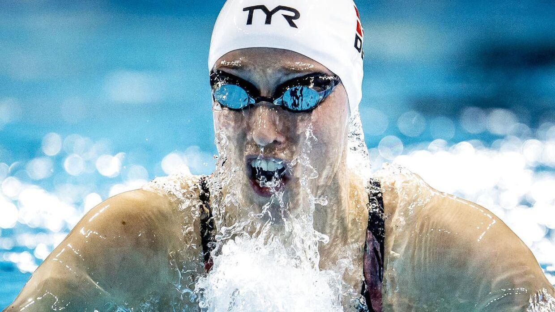 Rikke Møller Pedersen håber på snart at komme tilbage i bassinet.