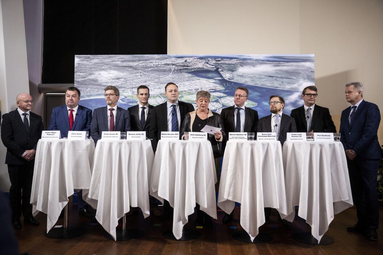 Regeringen og Hvidovre Kommune er enige om at igangsætte arbejdet for etableringen af et nyt erhvervsområde i forlængelse af det nuværende Avedøre Holme. Uffe Weng/Ritzau Scanpix