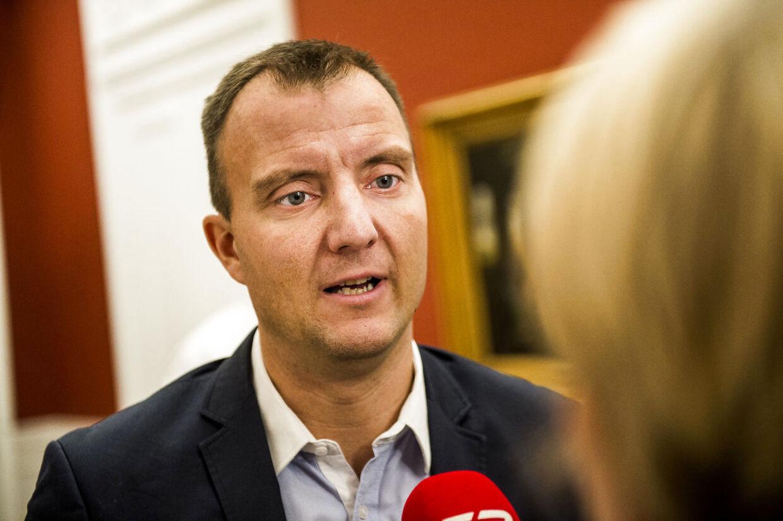 Dansk Folkepartis medieordfører Morten Marinus mener, at Christine Cordsen ikke var upartisk i sin analyse. Arkivfoto