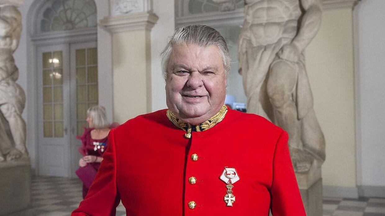 Christian Kjær har siden 2005 været tildelt ærestitlerne kammerherre og hofjægermester af Dronningen. Arkivfoto.