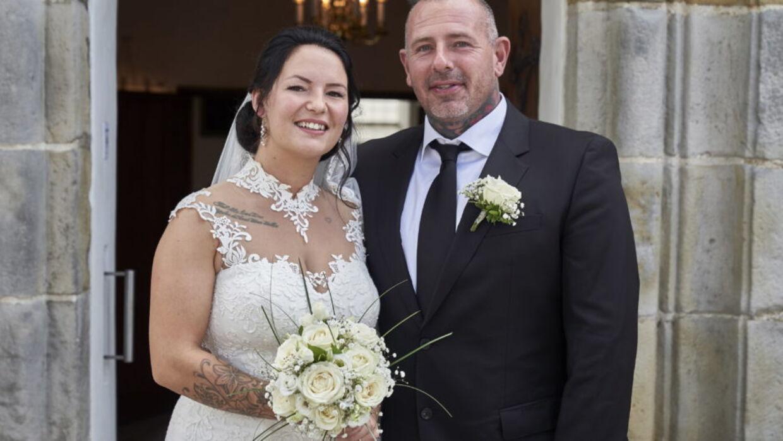 Sandra og Martin blev sidste år gift med hinanden, og inden længe kommer deres første fælles barn til verden.