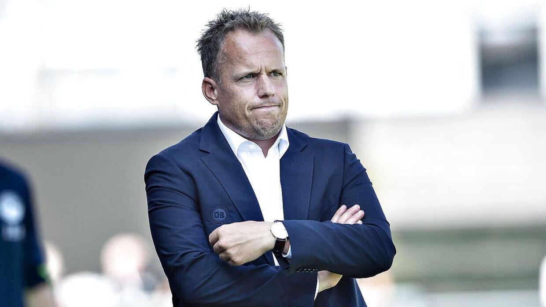 OB-cheftræner Jakob Michelsen.