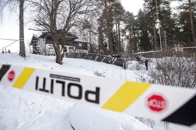 Huset i Fjellhamar i Lørenskog.
