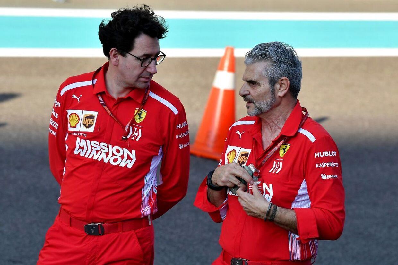 Teamchef Maurizio Arrivabene er blevet skiftet ud med holdets tekniske chef, Mattia Binotto.