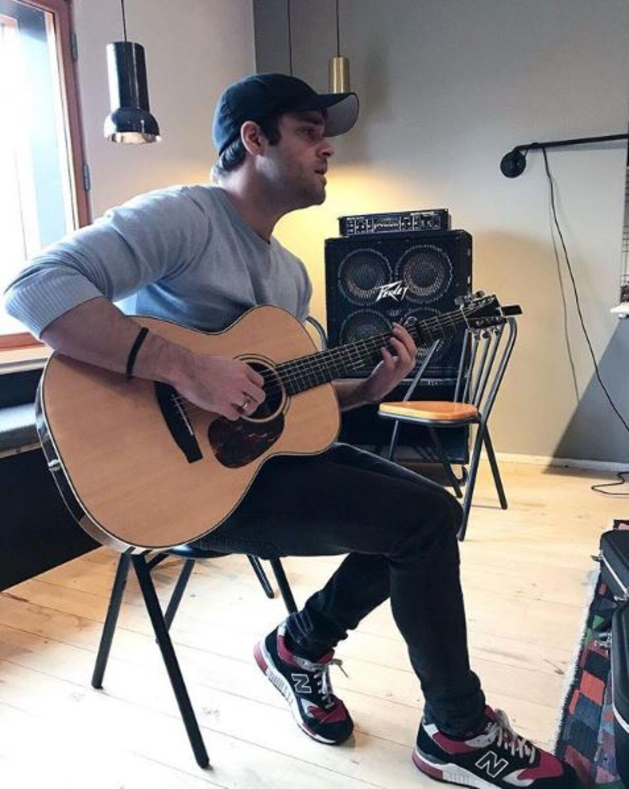 Jamie Talbot til optagelsesprøve på musikkonservatoriet.
