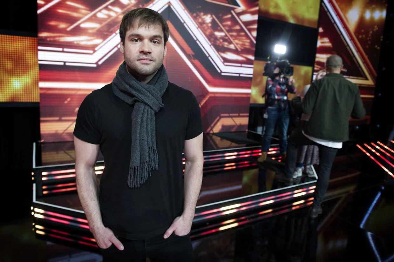 Jamie Talbot da han var med i X Factor.