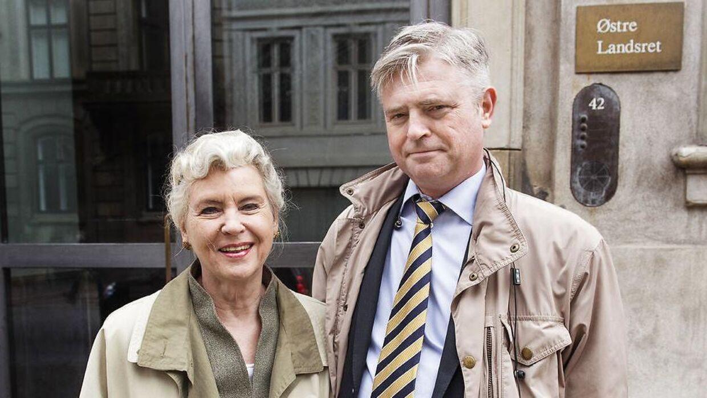 Her ses Tineke Færch og Erik Stener Færch ved Østre Landsret.