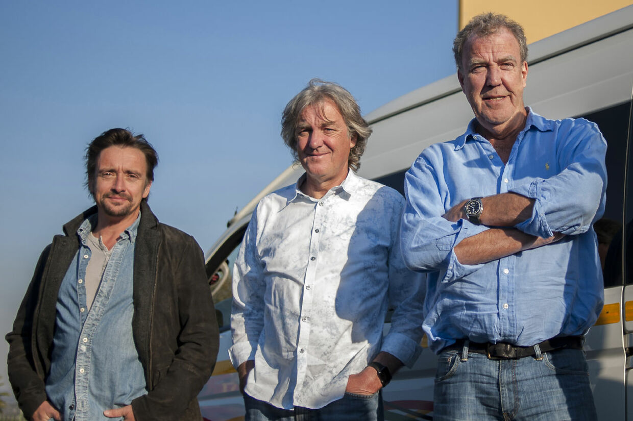 Richard Hammond, James May og Jeremy Clarkson laver i dag Grand Tour sammen.