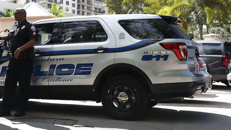 Politibetjent fra Florida. Arkivfoto.