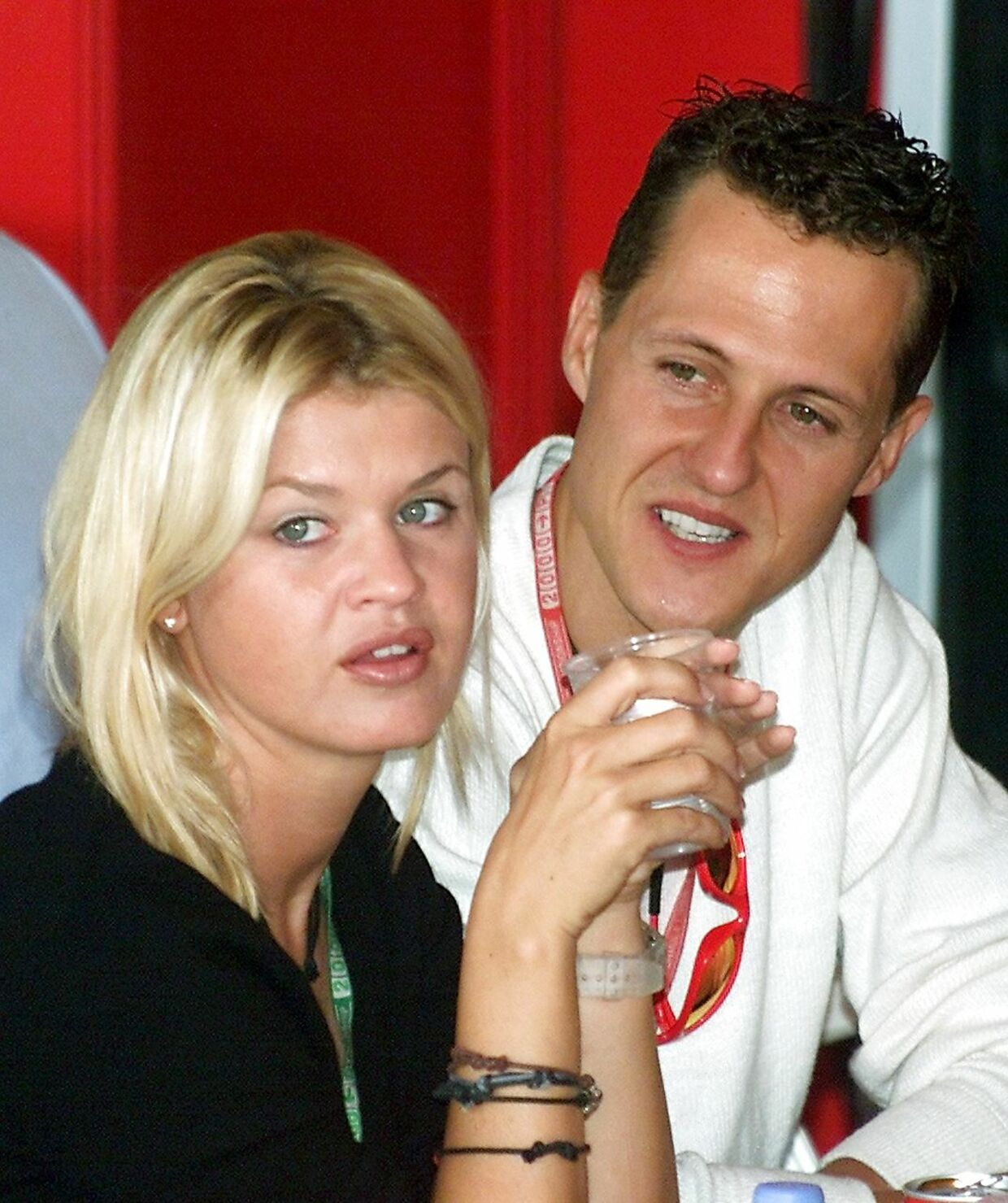 Corinna og Michael i 2000.