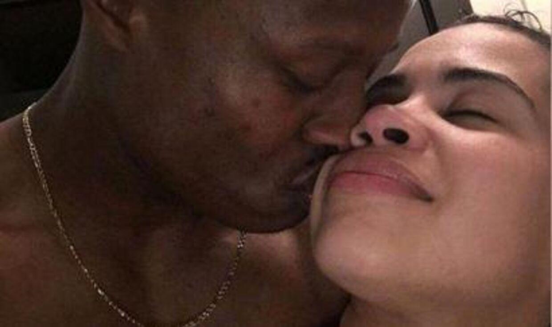 Kandou Worley og den 33-årige betjent Stephanie Gallardo havde en lille romance sidste år.