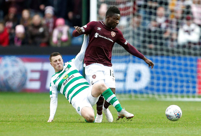 Danny Amankwaa fik ikke den store succes i Skotland, og nu vender han hjem til Superligaen.