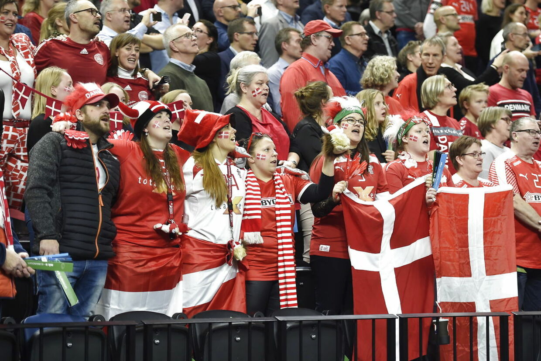 Denmark vs. Chile. World Cup Group C Handball match at Royal Arena in Copenhagen, Denmark, Thursday january 10th. 2019.. (Foto: Liselotte Sabroe/Ritzau Scanpix)