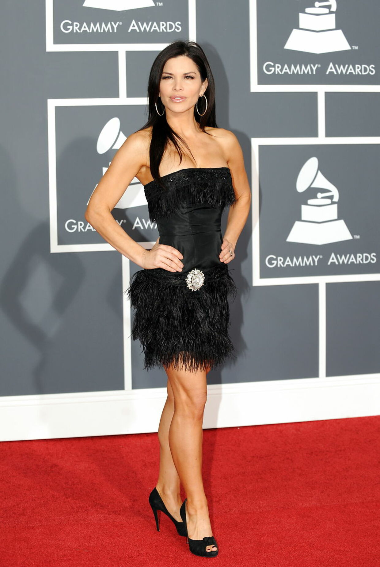 Her ses Sanchez til Grammy Awards i 2010. AFP PHOTO/ GABRIEL BOUYS. GABRIEL BOUYS / AFP