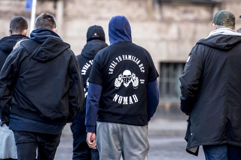 Bandegrupperingen Loyal To Familia (LTF) er nu blevet forbudt, og det er strafbart at reklamere med sit tilhørsforhold til banden. Arkivfoto.