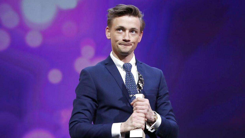 Esben Smed modtog prisen 'European Shooting Stars' til festen ved den 67. Berlin Film Festival i Berlin, Tyskland den 13. februar 2017.