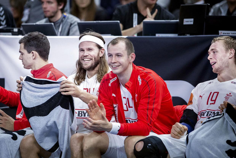 Mikkel Hansen fik også tid til at hvile i åbningssejren over Chile.
