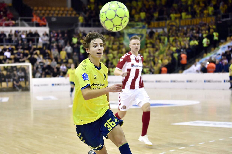 AaB-Brøndby IF ved KMD Cup i Ceres Arena i Aarhus fredag den 11. januar 2019.