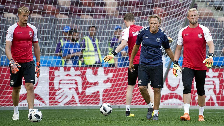 Udover at være træner i Brøndby IF er Lars Høgh også målmandstræner på det danske landshold.