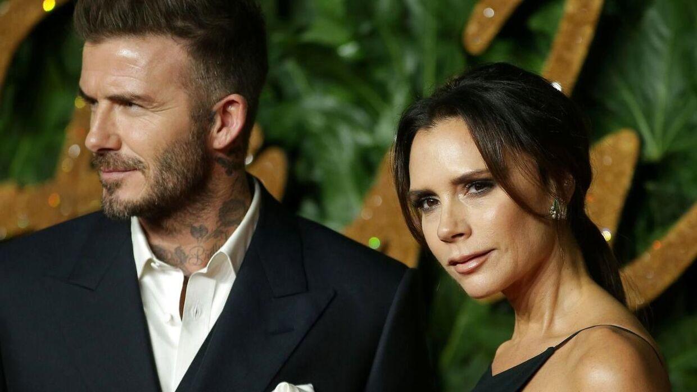 David Beckham er tildligere fodboldspiller og model og Victoria Beckham var 'Posh Spice' i pige-gruppen Spice Girls.