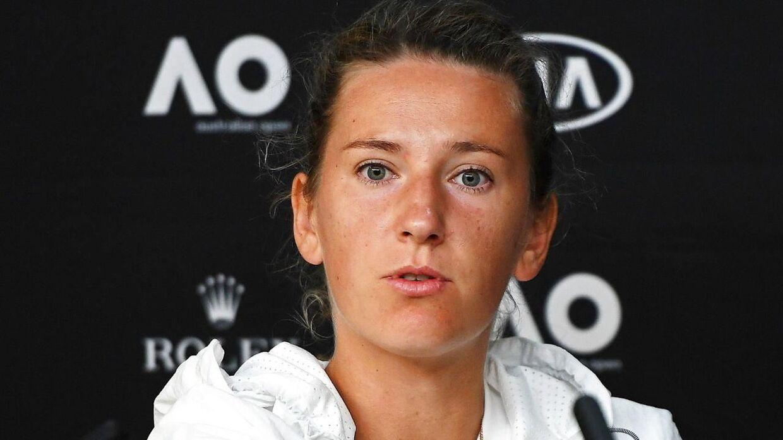 Victoria Azarenka var tydeligt skuffet efter nederlaget.
