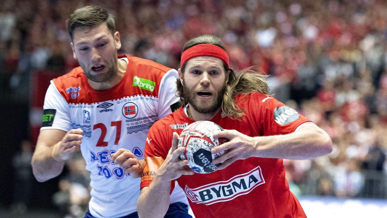 Mikkel Hansen spillede en klassekamp mod Norge.