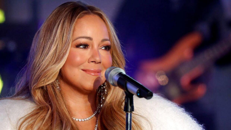 ARKIVFOTO af Mariah Carey.