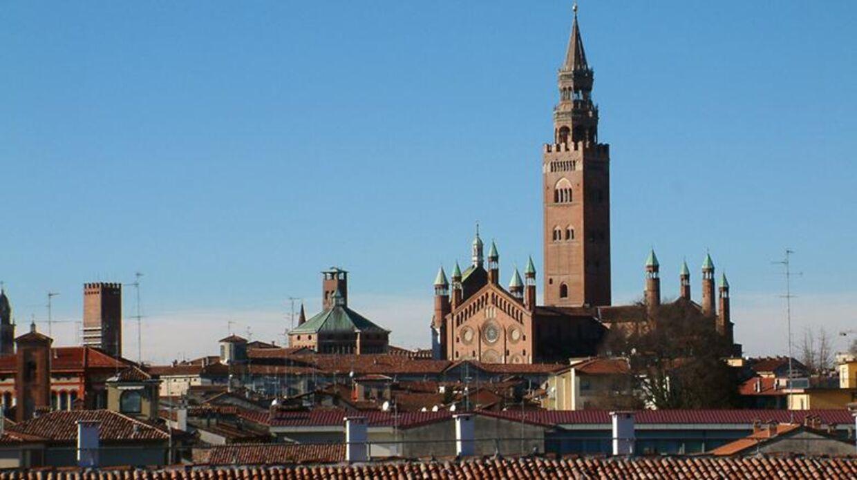 Byen Cremona er berømt blandt musikelskere i hele verden for sine Stradivarius-violiner. (Foto: Wikimedia Commons)