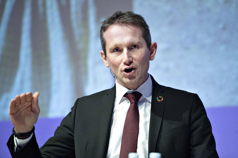 Finansminister Kristian Jensen er skuffet over Socialdemokratiets opførsel i Radius-sagen