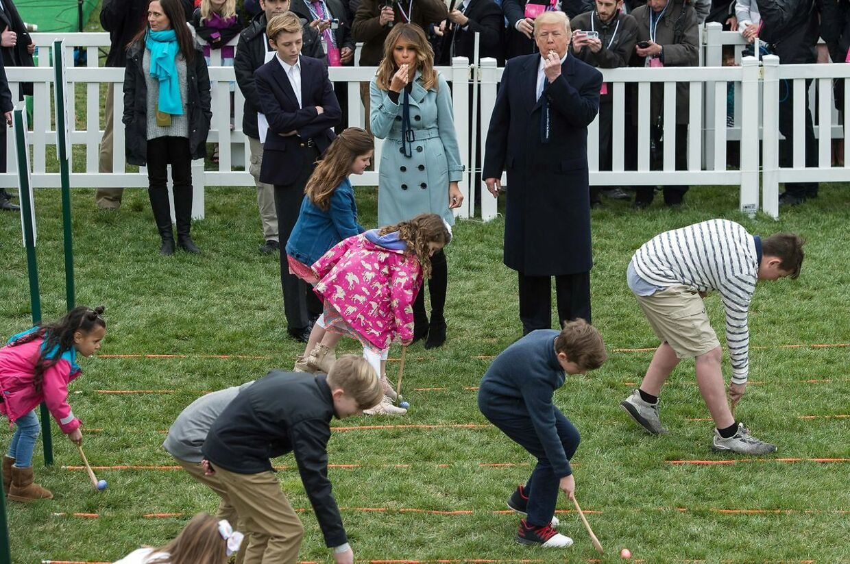 Sidste års Easter Egg Roll var en stor succes i Det Hvide Hus. I år bliver festen aflyst, hvis ikke lockout-krisen løses.