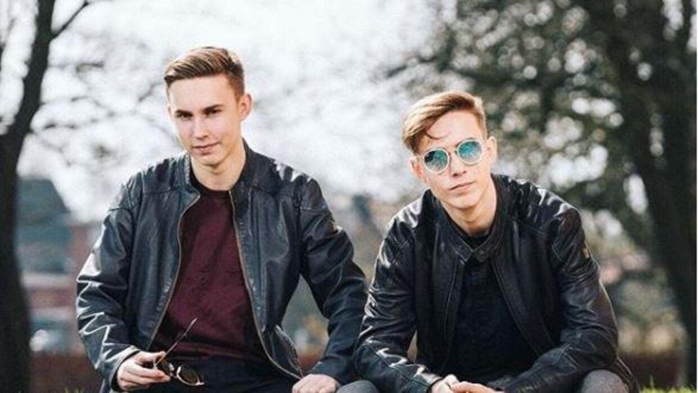 Emil og Mikkel Trier.