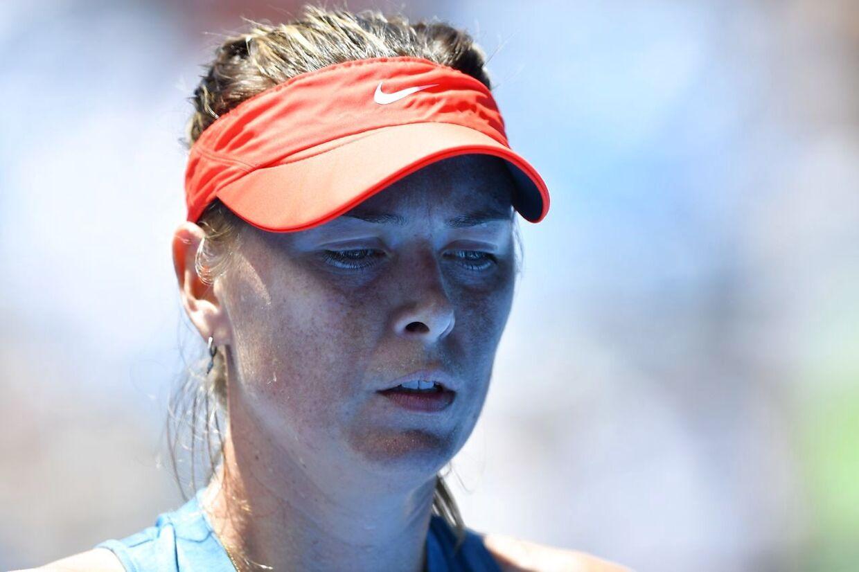 Maria Sharapova er færdig ved Australian Open.