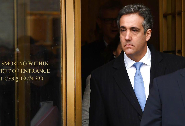 Trumps tidligere advokat Michael Cohen.