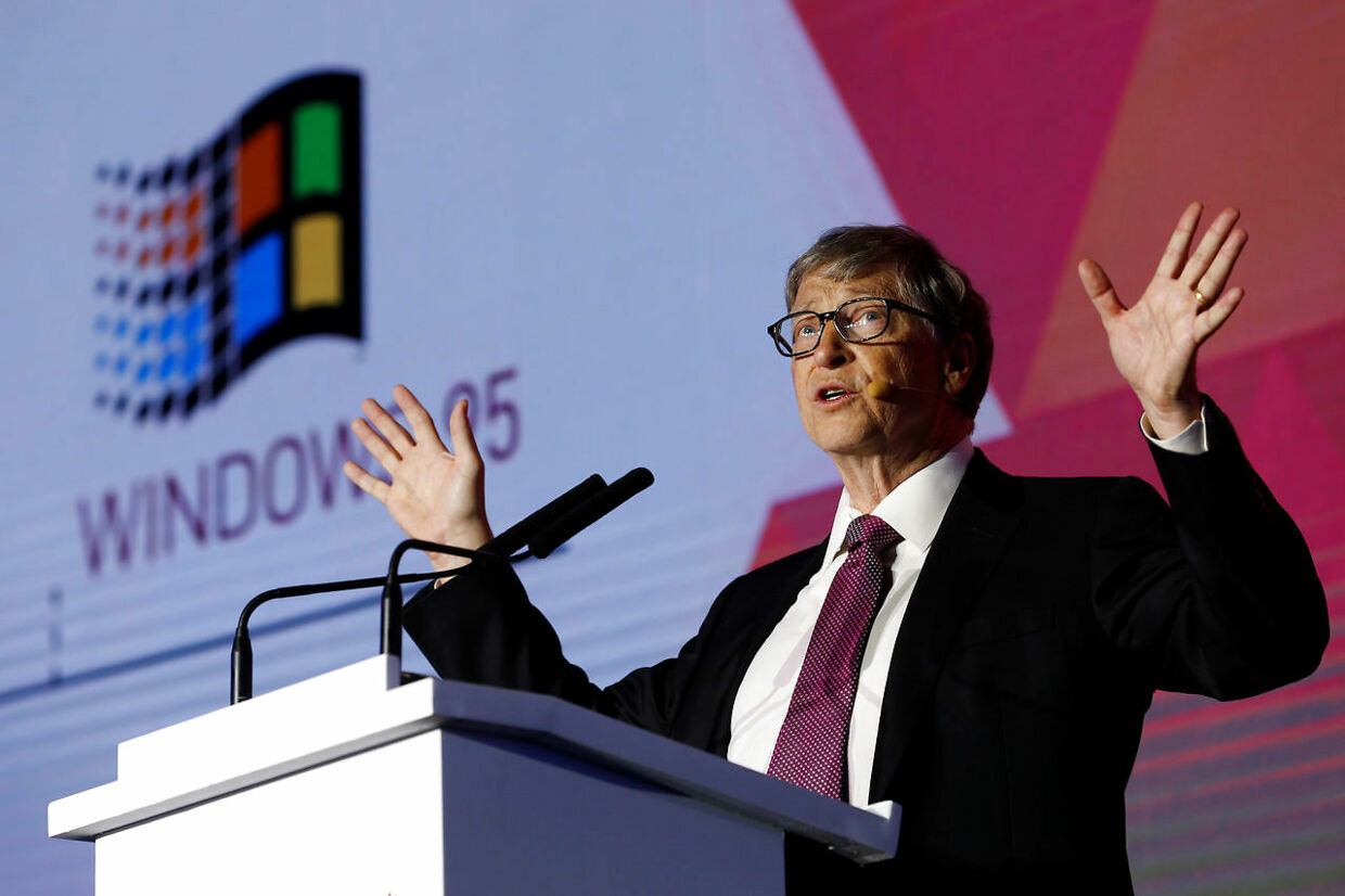 Bill Gates i front for Microsoft.