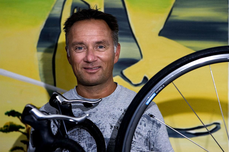 Tidligere cykelrytter Jens Veggerby var dybt berørt, da B.T. fangede ham på telefon i forbindelse med Gert Franks død.