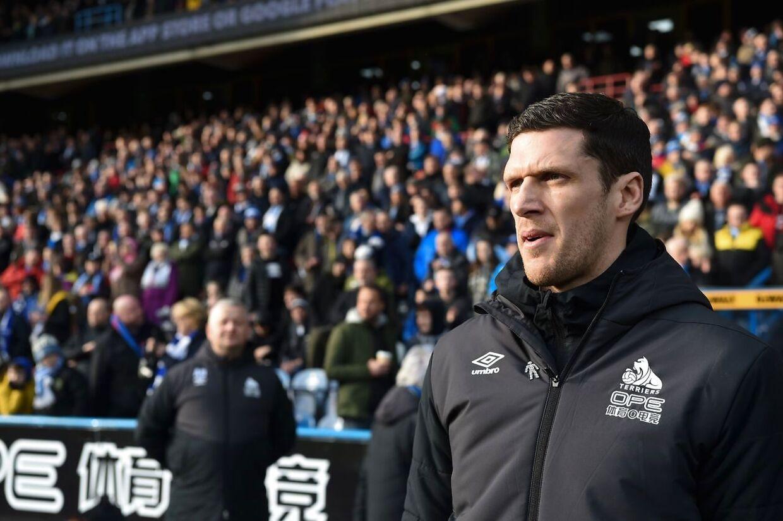 Den nye Huddersfield manager, Mark Hudson.
