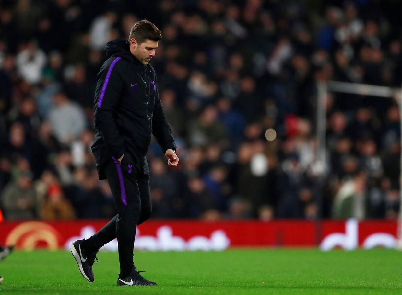 De falder som fluer i øjeblikket i Tottenham-truppen, men manager Mauricio Pochettino ser positivt på det hele og giver nye spillere chancen. Andrew Couldridge/Ritzau Scanpix