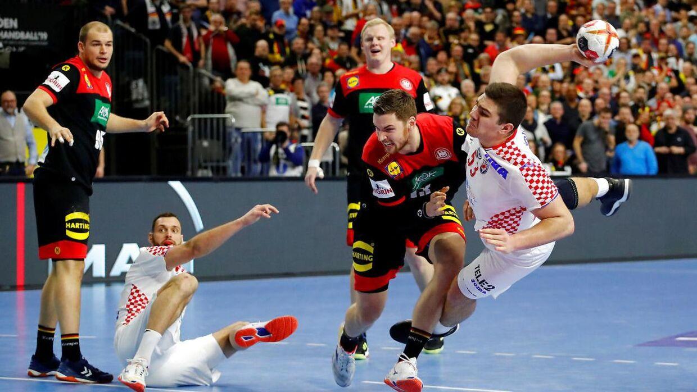 Kroatien måtte se sig besejret af Tyskland mandag aften - med blot et enkelt mål.