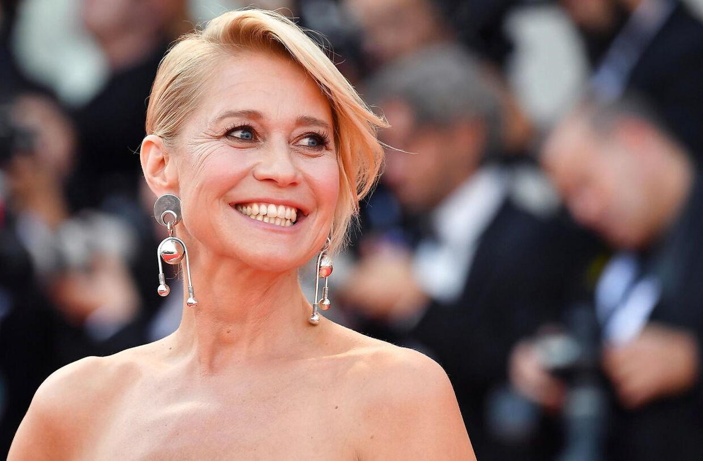 Trine Dyrholm ses her til filmfestivalen i Venedig.