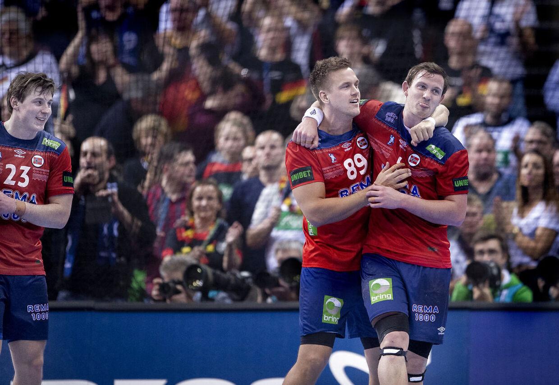 Sander Sagosen, Espen Lie Hansen og Gøran Johannessen.