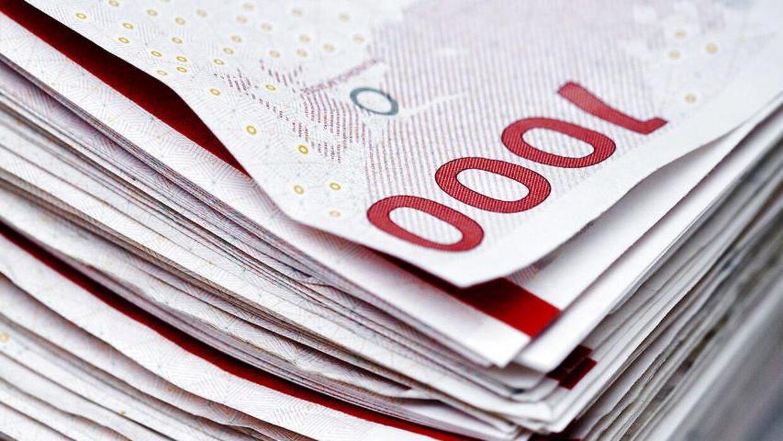 Københavns Politi melder om flere tilfælde af forfalskede 1.000-kronesedler.