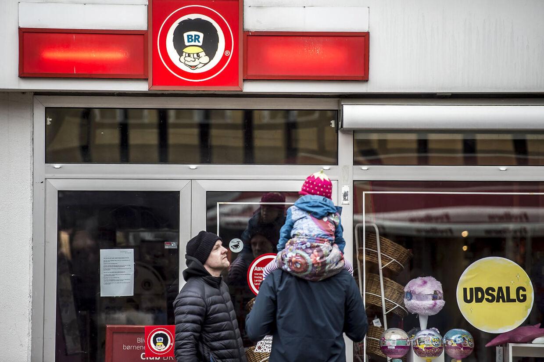 (ARKIV) Lukket Fætter BR-butik i Svendborg, lørdag den 29. december 2018. Salling Group genåbner til foråret 25 BR-butikker. Det oplyser direktør Per Bank til TV2 News. Det skriver Ritzau, tirsdag den 29. januar 2019.. (Foto: Mads Claus Rasmussen/Ritzau Scanpix)