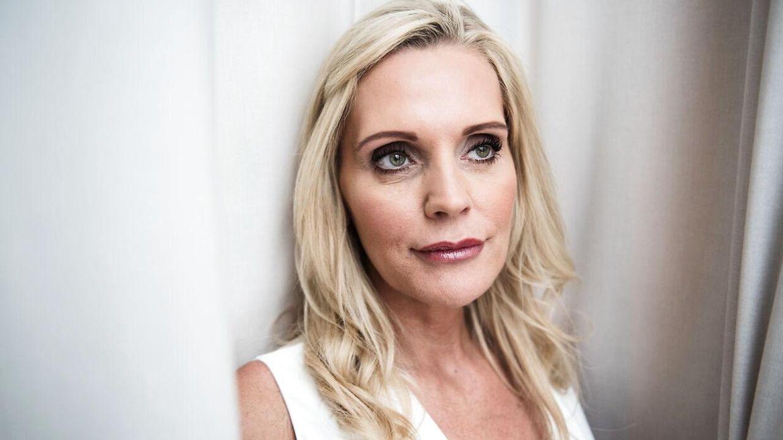 Janni Ree deler billede af sig selv uden makeup.