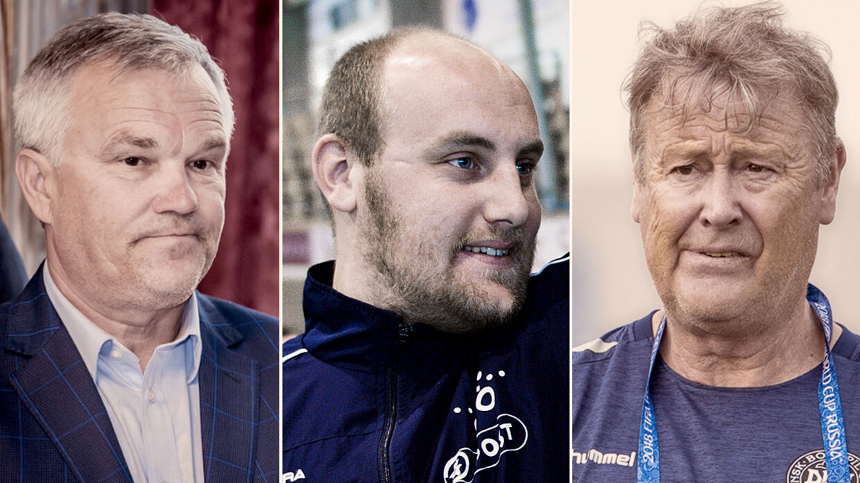 Piotr Wozniacki, Casper Jørgensen og Åge Hareide er nomineret til B.T. Coachers 2018.