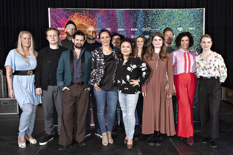 Her er de 10 artister, der skal dyste i Boxen i Herning.