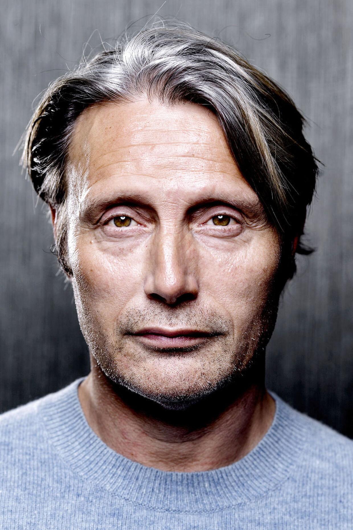 Mads Mikkelsen tabte sig otte kilo under optagelserne til filmen Arctic.