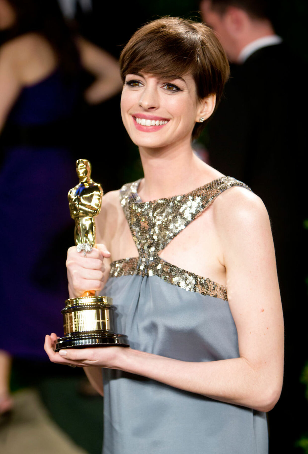 Anne Hathaway vandt en Oscar i 2012 for sin birolle i 'Les Miserables'. (Arkivfoto: Scanpix)