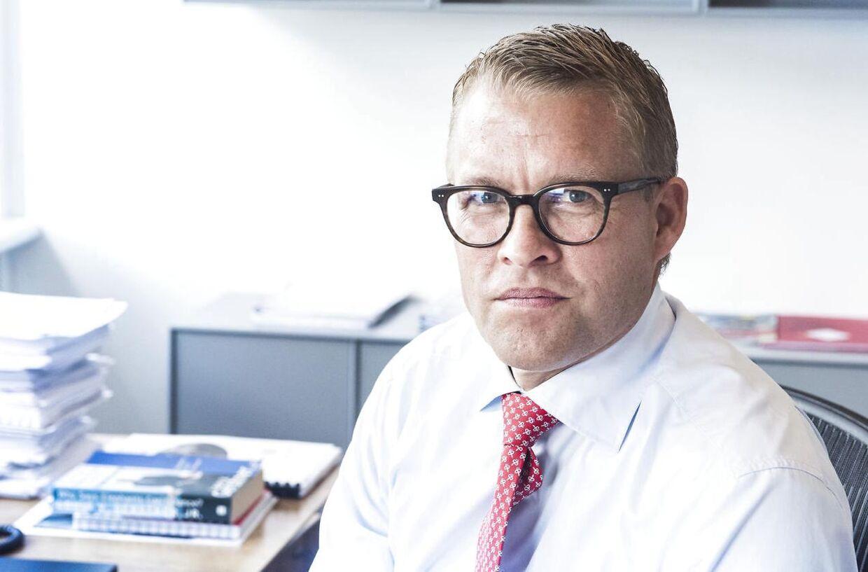 Jakob Riis græmmer sig som topchef i Falck over at læse om selskabets smædekampagne mod BIOS. Arkivfoto