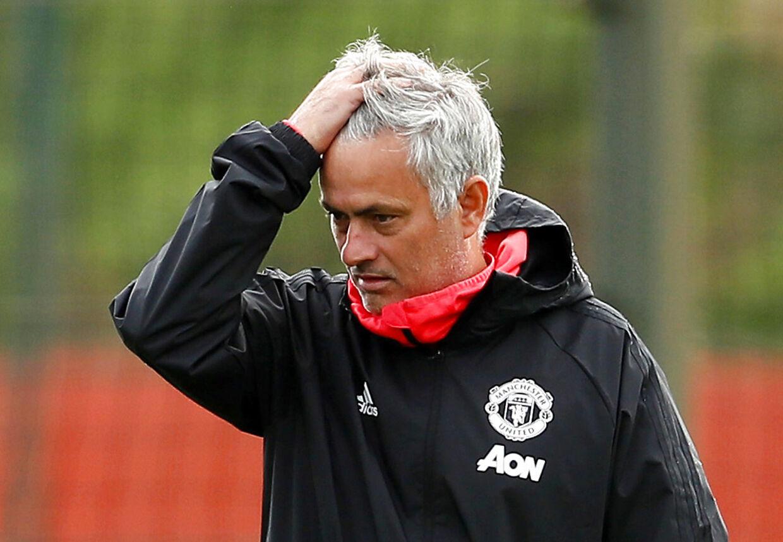 José Mourinho blev fyret før jul i Manchester United.